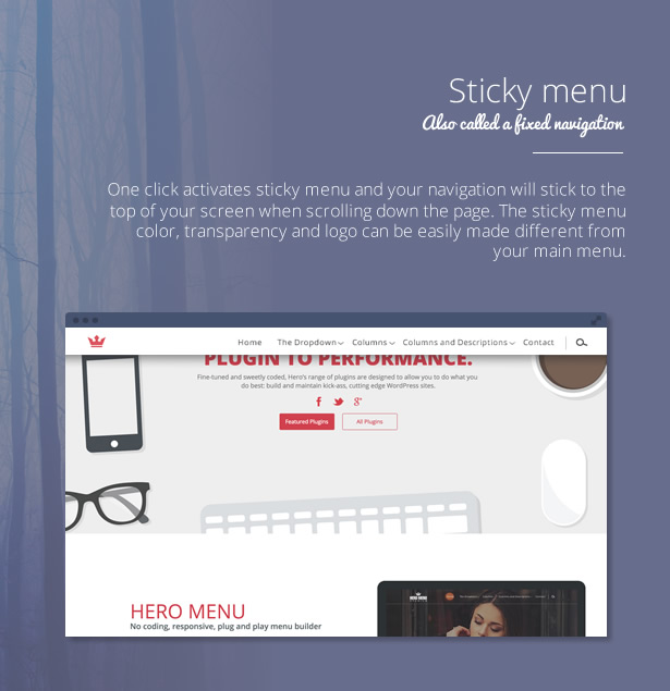 Hero Menu - Responsive WordPress Mega Menu Plugin - 15