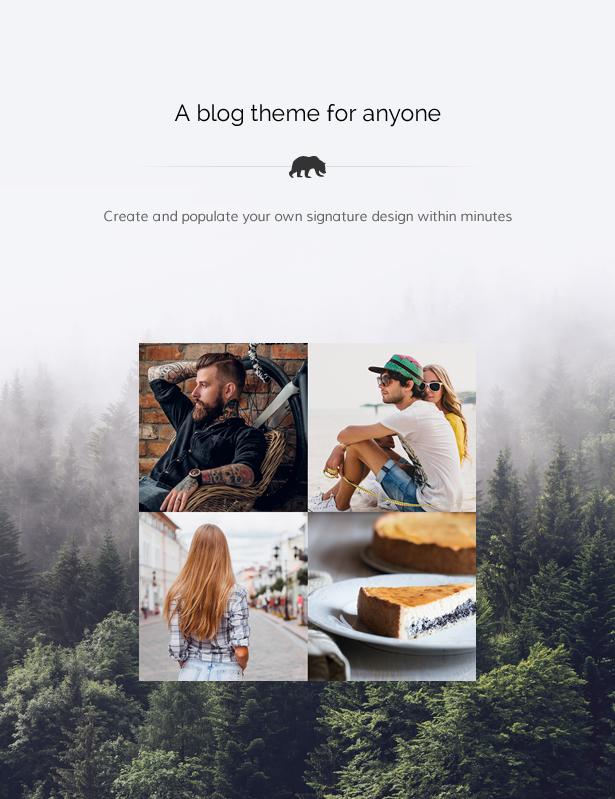 Stay Wild - A Clean Lifestyle Blog & Shop Theme - 4