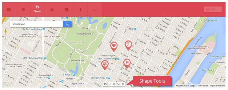 MapShapes
