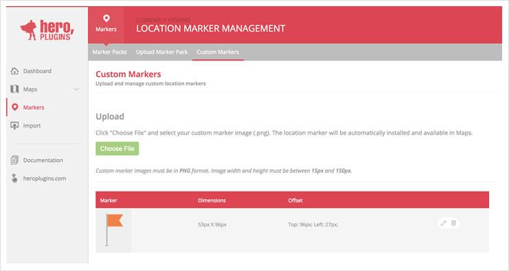 MapsCustomMarkers
